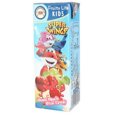 Smylefeast超级飞侠苹果果汁饮料 200ml