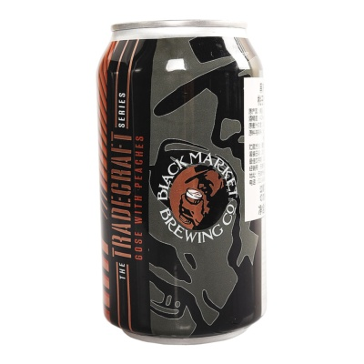 Black Market Tradecraft Series: Peach Gose 355ml