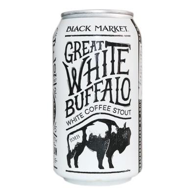 Black Market Great White Buffalo White Coffee Stout 355ml