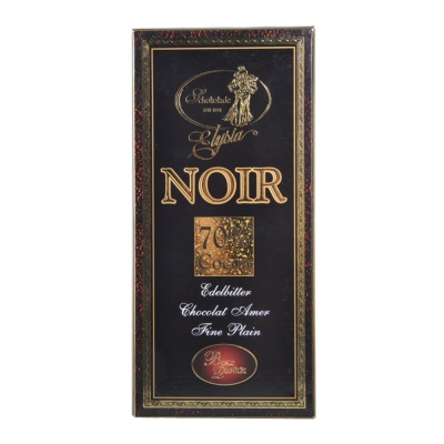 Elysia Noir 70% Dark Chocolate 100g
