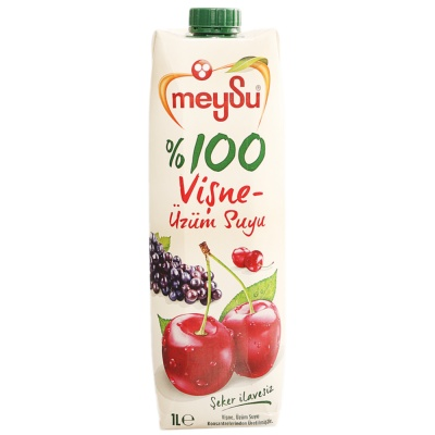 Meysu Sourcherry-Grape Juice 1L
