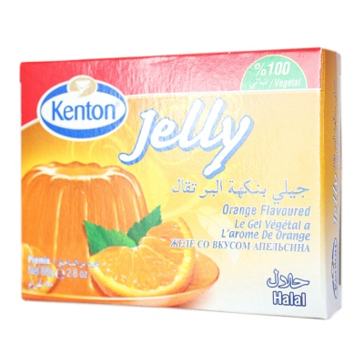 Kenton Orange Flavoured Jelly Premix 80g
