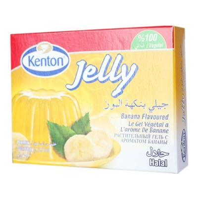 Kenton Vegetal Jelly With Banana 80g