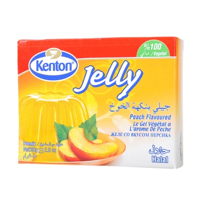 Kenton Peach Jelly Premix 80g