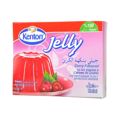 Kenton Cherry Jelly Mix 80g