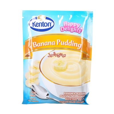 Kenton Pudding Banana (Sachet) 100g