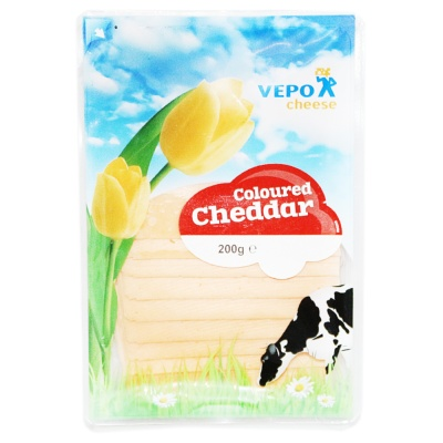 Dutch Red Cheeda Slice Cheese 200g
