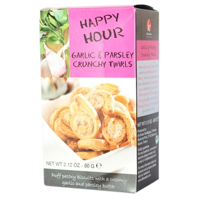 De Kroes Garlic&Parsley Puff Pastry Biscuit 60g