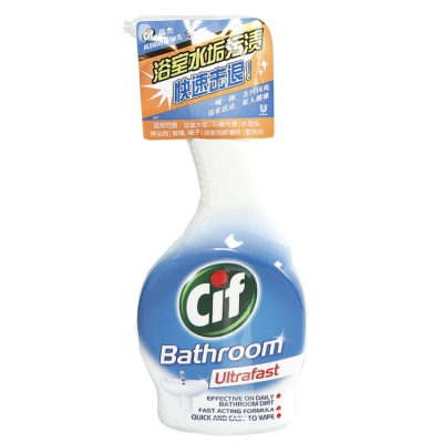 Cif Bathroon Ultrafast Cleaner 450ml