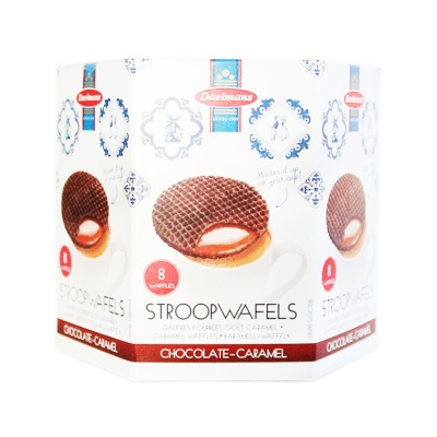 Daelmans Chocolate-Caramel Stroop Wafels 224g