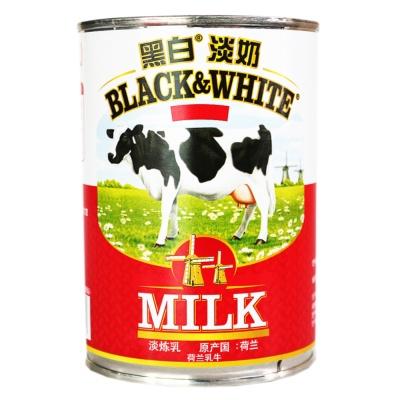 Black&White Full Fat Evaporated Milk 376ml