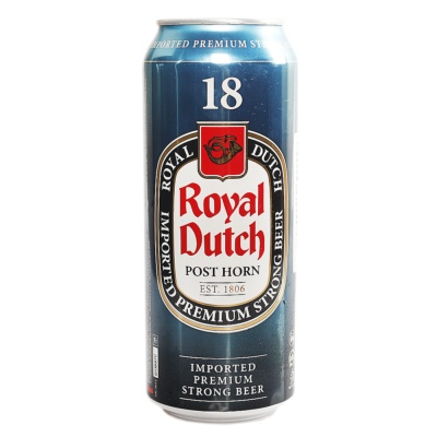 Royal Dutch 18 Imported Premium Strong Beer 500ml