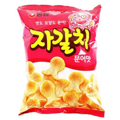 Nongshim Octopus Flavored Crisps 90g