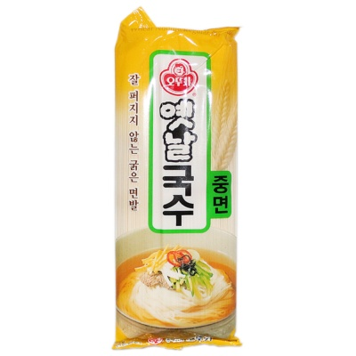 Ottogi Regular Round Wheat Noodles 500g
