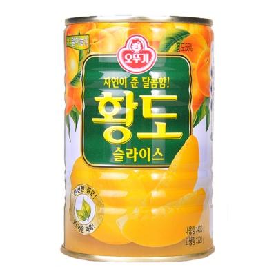 奥土基黄桃罐头 400g