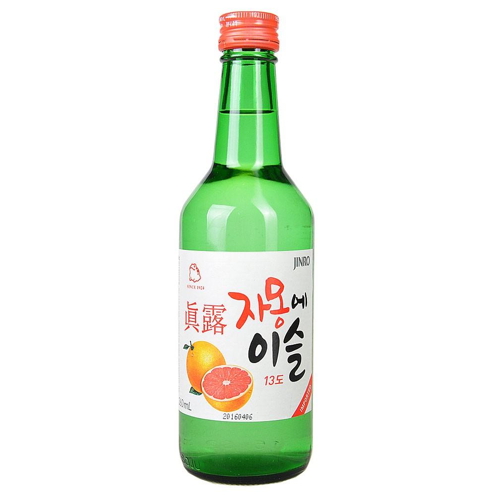 Jinro Soju Grapefruit Flavor 360ml