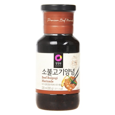 Chungjungone Korean Marinade(For Beef) 280g