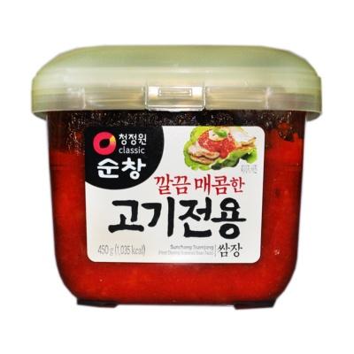 Sunchang Ssamjang Meat Dipping Seasoned Bean Pasta 450g