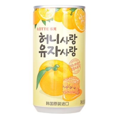Lotte Honey Grapefruit Drink 180ml
