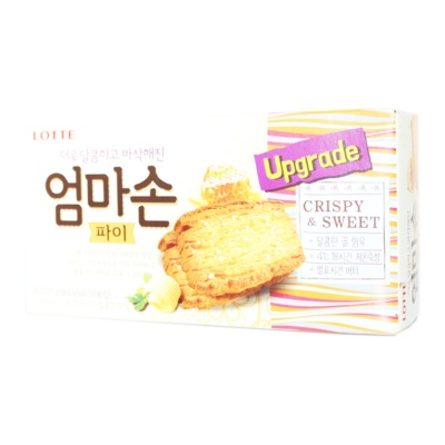 Lotte Crispy & Sweet Biscuits 127g