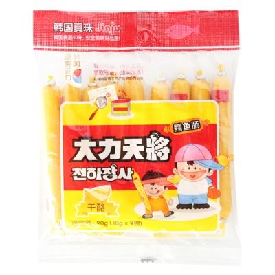 Linju Cheese Cod Sausage 9*10g
