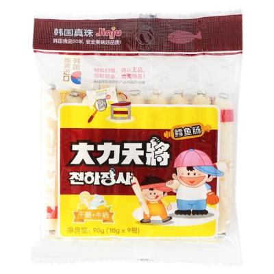 Linju Milk & Cheese Cod Fish Sausage 9*10g