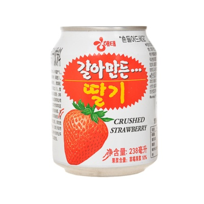 HaiTai Crushed Strawberry Juice 238ml