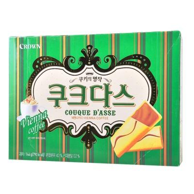 Crown Roasting Vanilla Coffee Biscuit 144g