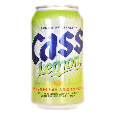 Cass Lemon Flavored Beer 355ml