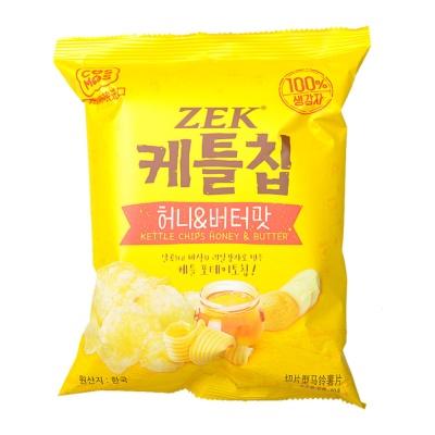 ZEK Honry & Butter Potato Chips 60g