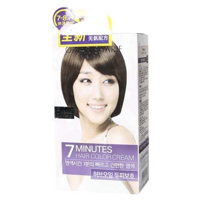 Omar Sharif 7 Minutes Hair Color Cream NO.5 2*60g