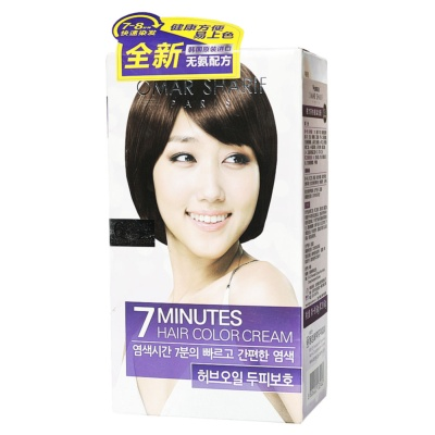 Omar Sharif paris 7 minutes hair color cream