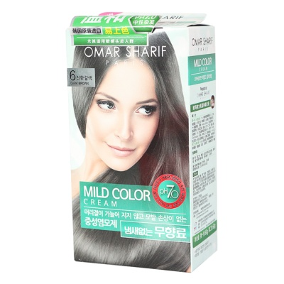 Omar Sharif Mild Color Cream (Dark Brown)