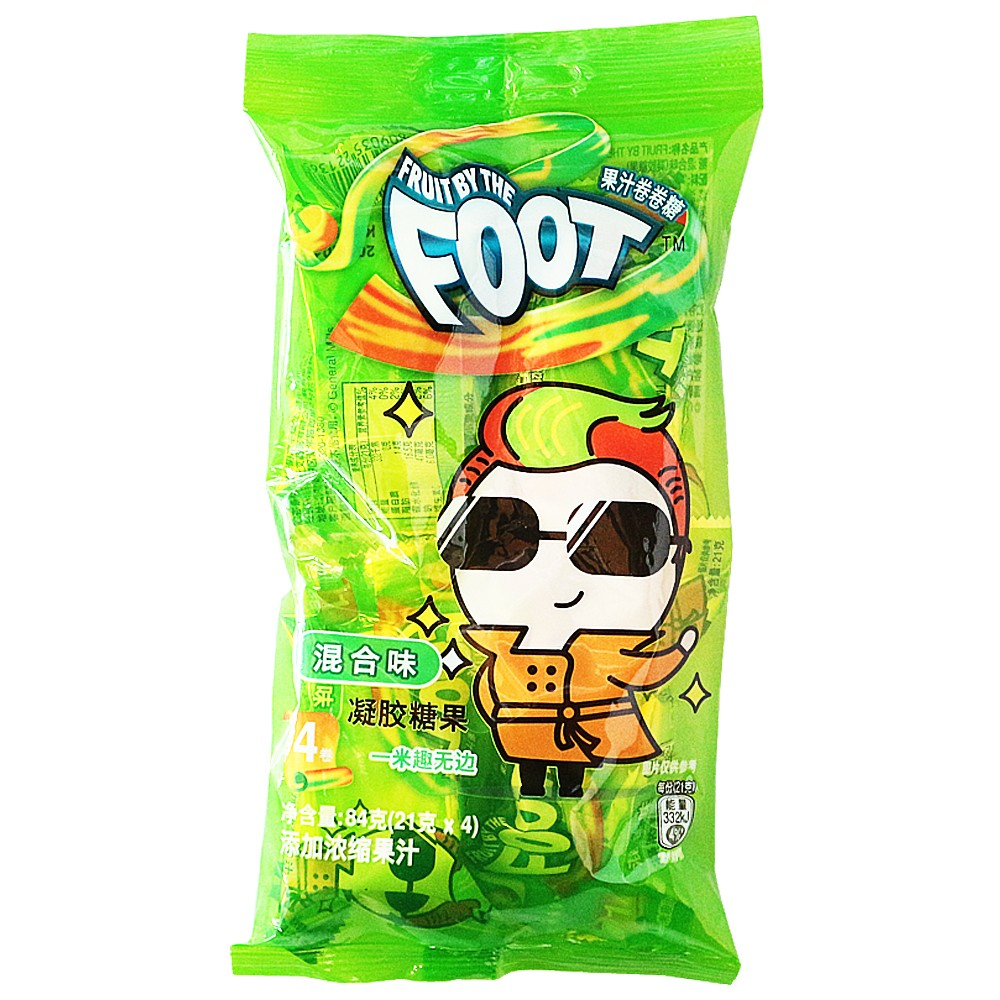 Fruit By The Foot Juice Candy Mix Flavor 21g
