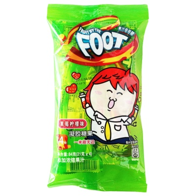 Fruit By The Foot Juice Candy Strawberry&Lemon Flavor 84g