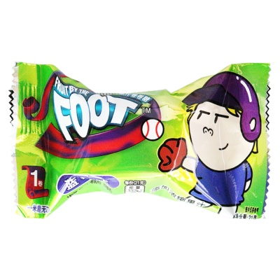 Fruit By The Foot Juice Candy Blueberry Flavor 21g