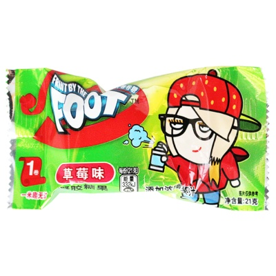 Fruit By The Foot Juice Candy Strawberry Flavor 21g