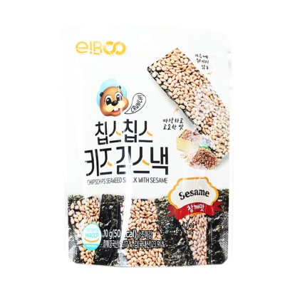 Eiboo Chipschips Seaweed Snack With Sesame 10g