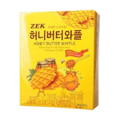 ZEK蜂蜜黄油瓦夫饼干 120g
