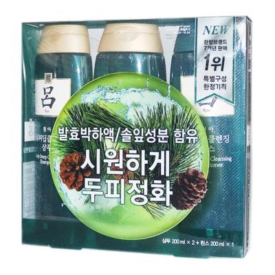Ryoe Shampoo+Conditioner 3*200ml