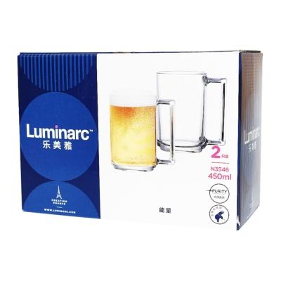 Luminarc Tempered Fitness Mug 2*45cl