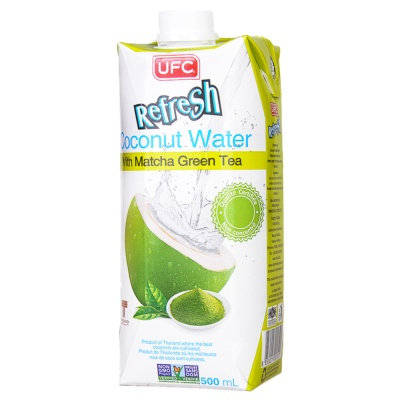 UFC Coconut Water With Matcha Green Tea 500ml