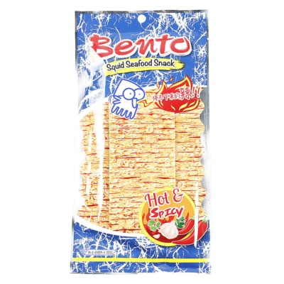Bento Squid Seafood Snack(Hot&Spicy) 20g