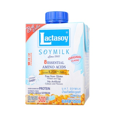 Lactasoy Original Classic Soymilk 500ml