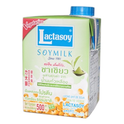 Lactasoy Green Tea Soymilk 500ml