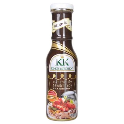 King's Kitchen Black Pepper Sauce 300g