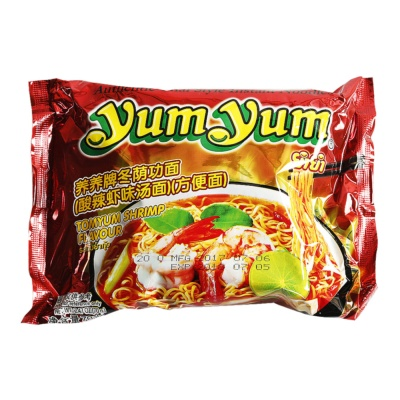 Yumyum Tomyum Shrimp Noodles 70g