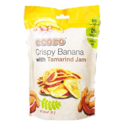 Ecoro Crispy Banana With Tamarind Jam 80g