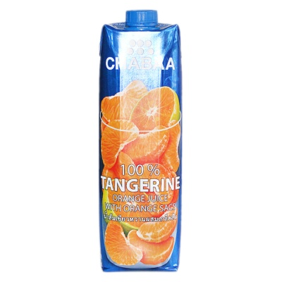 Chabaa 100% Tangerine Orange Juice 1L