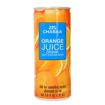 Chabaa Orange Juice Drink 230ml